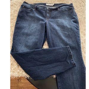 Torrid Dark Rinse Skinny Jeans Size 20
